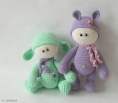 Crochet Knoll Amigurumi toy от ArtDollsByKseniya на Etsy