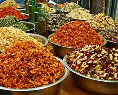 Food market Mahane Yehuda Jerusalem spice blends. Own a Piece of History at the W Tel Aviv Residences www.wtelavivresidences.com