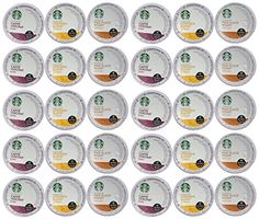 Starbucks Coffee K-Cups for Keurig Brewer 72 Piece Variety Pack Count): Some like light coffee, and some prefer a bolder cup, this starbucks variety sampler will certainly please you and your visiting friends. Coffee K Cups, Coffee Talk, Coffee Pods, Starbucks Flavors, Coffee Effects, Best K Cups, Steeped Coffee, Low Acid Coffee, Coffee Store