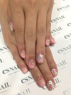 Nail Art - Nail Salon blog ~ AmebaGG daily es nail ... | image of white flower nail ♪