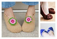 Simple Crochet Slippers Free Patterns