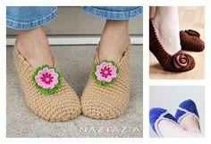 Simple Crochet Slippers Free Patterns