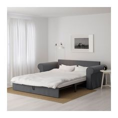 Ikea - double sofa bed for Ben/playroom Sofa Cama Ikea, Ikea Bed, Convertible 2 Places, Snug Room, Ikea Home, Chair Bed, Piece A Vivre, Living Room Remodel, Affordable Furniture
