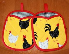 This would go really cute with my Rooster and Chicken Apron!