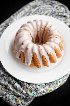 Desserts for Breakfast: Chocolate Ricotta and Lemon Poppyseed Pound Cakes