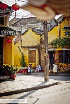 """I used to call Hoi An """"The Venice of Vietnam"""" as its narrow streets and colorful houses remind me of Venice. The city is well-known for its lanterns. Highly recommended to stop by for few days, here in the center of Vietnam. Laos, Vietnam Voyage, Vietnam Travel, Le Vietnam, Hoi An, Beautiful World, Beautiful Places, Beautiful Vietnam, Thailand"""