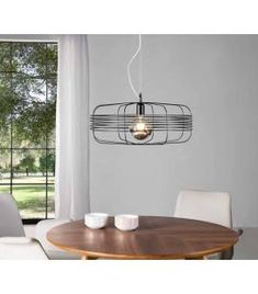 Comprar online Colgante de techo de estilo Vintage Industrial modelo LILLY Color Plata, Ceiling Lights, Lighting, Home Decor, Model, Home Decorations, Furniture, Contemporary Style, Hanging Lamps