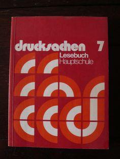 drucksachen 7 cover — designer unknown