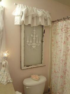 Not So Shabby - Shabby Chic for the bathroom or any room without a window