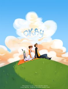 The Fault in Our Stars cover redesign by digital-doodle