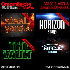 1Mix Radio: Creamfields Announce Four Fantastic Stages