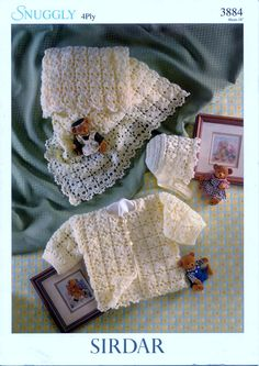 Vintage BABY CROCHET PATTERN  Baby Jacket Shawl and by carolrosa, $1.72