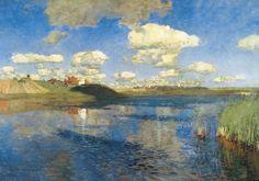 Lake. Rus. by Isaac Levitan