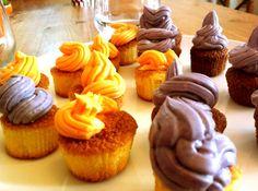 Mes cupcakes avec glaçage au mascarpone d'après le blog www.leshuilesvegetales.fr