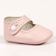 Cutie Pie Pink Baby Shoes.