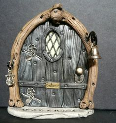 Check out this item in my Etsy shop https://www.etsy.com/listing/225086201/fairy-door-805-m-gnome-hobbit-elves