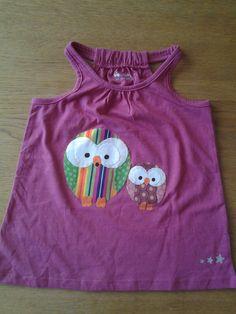 camiseta amb aplicacions mussols Asha