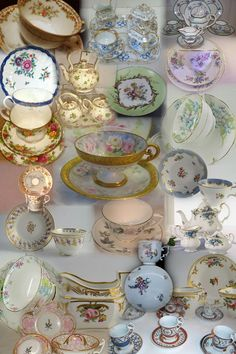 maybe get some inexpensive cups/saucers--vintage stores? garage sales? mismatching is good!