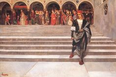 The Marriage Procession of Arthur and Guinevere by John Byam Liston Shaw :: artmagick.com