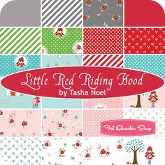 Little Red Riding Hood Yardage Tasha Noel for Riley Blake Designs - Fat Quarter Shop. ETA March 2013
