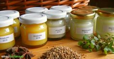 Cold ointment with anise or marjoram - even for babies and toddlers - Use the healing powers of nature for the whole family. With this recipe for homemade healing ointme - Health Remedies, Home Remedies, Natural Remedies, Diy Beauty Organizer, Gut Health, Health Fitness, Homemade Cosmetics, Natural Essential Oils, Medicinal Herbs