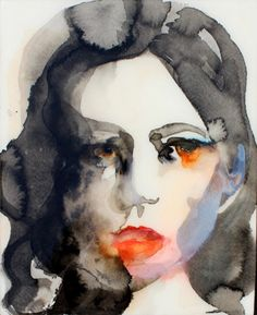 Lisa Krannichfeld watercolor portraits