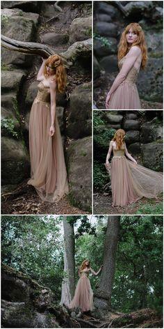 Into the Woods Wedding Dress