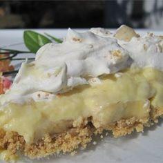 Banana Cream Pie III Allrecipes.com
