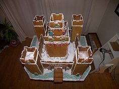 The 24 Best Gingerbread Castle Images On Pinterest Christmas