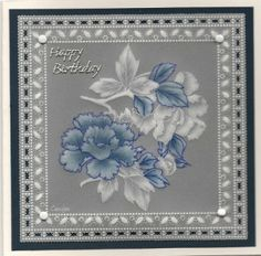 By Carolyn C.  Altered pattern using dorso and embossing.
