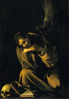 """St. Francis in Prayer"" by Caravaggio"