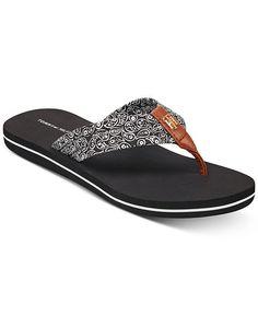 af539c2ec Tommy Hilfiger Women s Chang Flip Flops   Reviews - Sandals   Flip Flops -  Shoes - Macy s