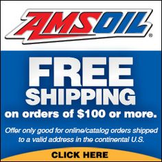 Free Shipping Program from AMSOIL.