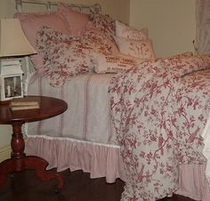French Laundry Avalon Red Bird Toile  - FREE SHIPPING - NO SALES TAX