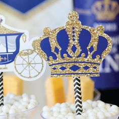Princes Birthday Princess Party Theme PRINCESS KINGDOM Crown Candy Box-8 Pack Princess Birthday Party Princess Girl Princess Baby Shower