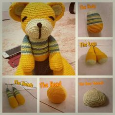 Yellow bear ...