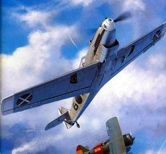 Bf109 B vs I-152 - Jaroslaw Wróbel