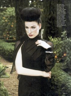 magazine: Flare  photographer: Max Abadian makeup: Kathy Jeung hair: Danilo