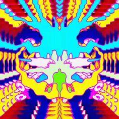 Aesthetic Videos, Aesthetic Art, Trippy Visuals, Trippy Pictures, Art Optical, Beautiful Fantasy Art, Hippie Art, Purple Aesthetic, Galaxy Wallpaper