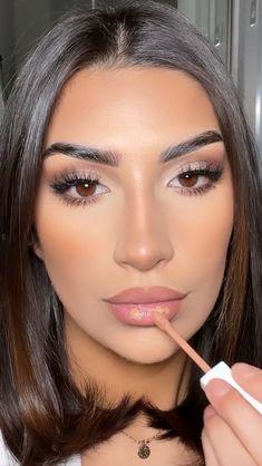 Neutral Makeup, Nude Makeup, Contour Makeup, Skin Makeup, Glam Makeup Look, Soft Makeup Looks, Makeup Looks Tutorial, Makeup Makeover, Makeup Obsession