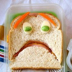 Sad sack....lunch