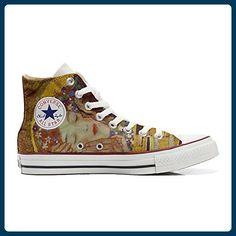 ff814c98da Converse All Star personalisierte Schuhe (Handwerk Produkt) küssen klim -  TG46 - Sneakers für