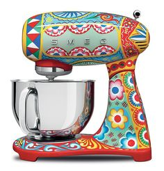 Dolce & Gabbana Is Releasing A Line Of Kitchen Appliances Decorated With Sicilian Motifs | Bored Panda