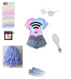"""Pastel"" by sarahbicknelll ❤ liked on Polyvore featuring beauty, Casetify, Bobbi Brown Cosmetics, Vans and Charlotte Russe"