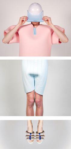 Vera de Pont ontwerpt kleding voor als Nederland straks onder water staat   The Creators Project