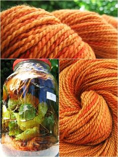 mixed solar dyeing? Incredible color...