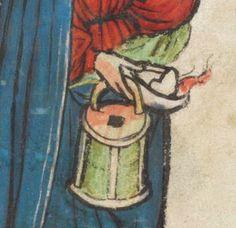 Speculum Humanae Salvationis 1427 Cod. membr. 8  Folio 36r