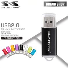 Objective Custom Logo Metal Keychain Usb Flash Drive Usb Pen Drives Usb2.0 Pendrive 4gb 8gb 16gb 32gb 64gb Usb Memory U Stick Wedding Gift Computer & Office