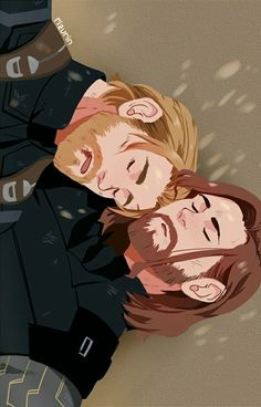Post-battle nap || Stucky || Cr: Riz