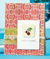 You're So Sweet Card by @Kimberly Crawford - supplies and instructions included